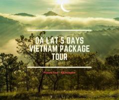 Da Lat 5 Days Vietnam Package Tour / 大叻五日之越南旅游配套
