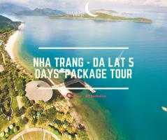 Nha Trang - Dalat 5 Days Vietnam Private Package Tour  / 芽庄-大叻 五日之越南旅游配套