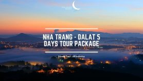 Nha Trang - Dalat 5 Days Vietnam Private Package Tour  / 芽庄-大叻 五日之越南旅游配套