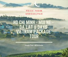 Ho Chi Minh - Mui Ne - Da Lat 6 Days Vietnam Package Tour / 胡志明市-美奈-大叻六日之越南旅游