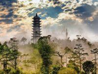 灵峰塔 Linh Phong Temple Tower
