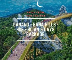 Danang - Bana Hills - Hue - Hoian 5 Days Vietnam Package Tour Package ( 1 night on Bana Hills French village hotel) / 岘港-巴拿山-顺化-会安 五日之越南旅游配套 (在巴拿山法国村酒店过一夜)
