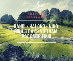 Hanoi - Halong - Ning binh 5 Days Vietnam Package Tour / 河内–下龙-宁平 五日之越南旅游配套