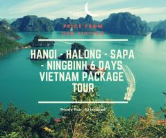Hanoi - Halong - Sapa - Ning Bing 6 Days Vietnam Package Tour / 河内–下龙湾–萨帕-陆龙湾 六日之越南旅游配套