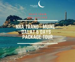 Nha Trang  - Muine - Dalat 6 Days Vietnam Package Tour  / 芽庄-美奈-大叻 六日之越南旅游配套