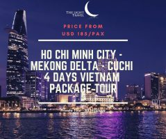 Ho Chi Minh city  - Mekong Delta - Cuchi 4 Days Vietnam Package Tour / 胡志明市 - 湄公河 - 古芝 四日之越南旅游配套