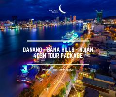 Danang - Bana Hills - Hoian 4 Days Vietnam Package Tour / 岘港-巴拿山-会安 四日之越南旅游配套